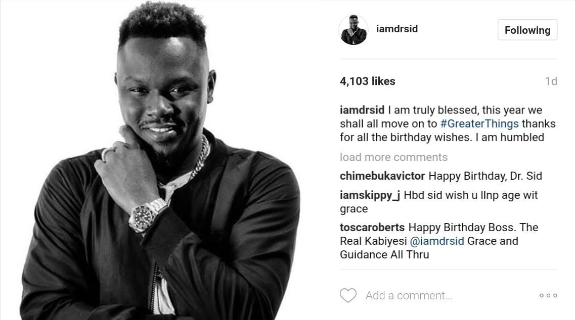 Simi Esiri Celebrates Her Singer Husband Dr Sid On His Birthday 5
