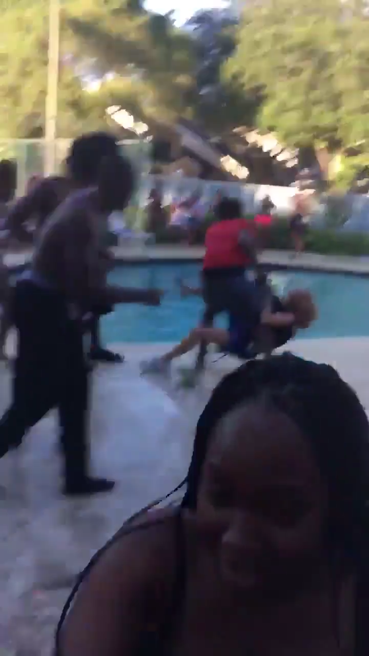 South Florida Elderly Woman Was Slammed To The Ground And Dragged Into Pool By Neighbour While Trying To Break Up High School Pool Party 6