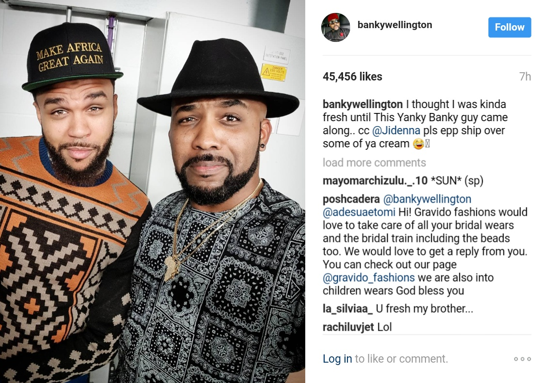 Banky W And Jidenna Pictured In New Photo 1