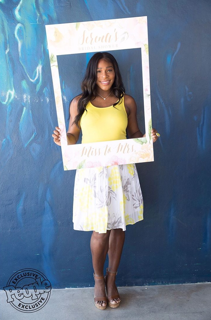 Nacho Average Bride Serena Williams 2-Day Bridal Shower 2