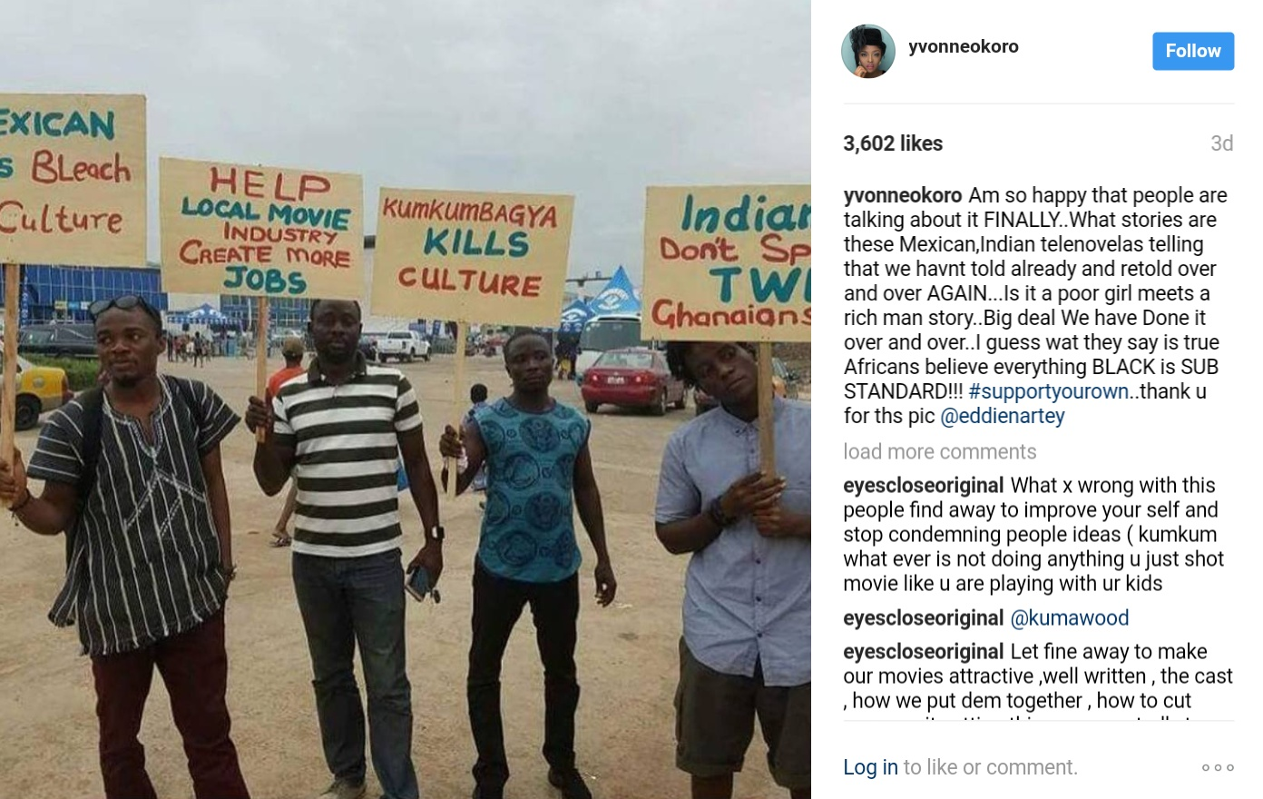 Yvonne Okoro Has Taken A Swipe At Local TV Stations Over High Patronage Of Foreign Telenovelas
