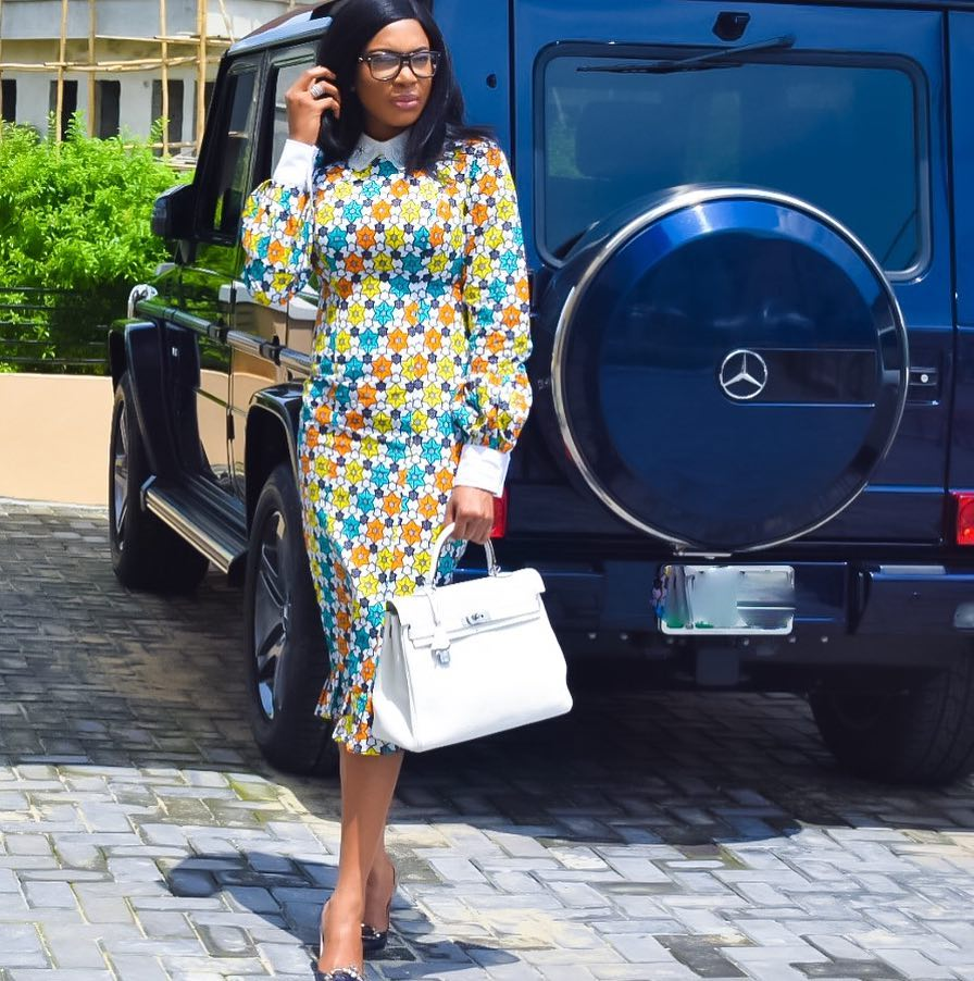 Chika Ike And Her G-Wagon (1)