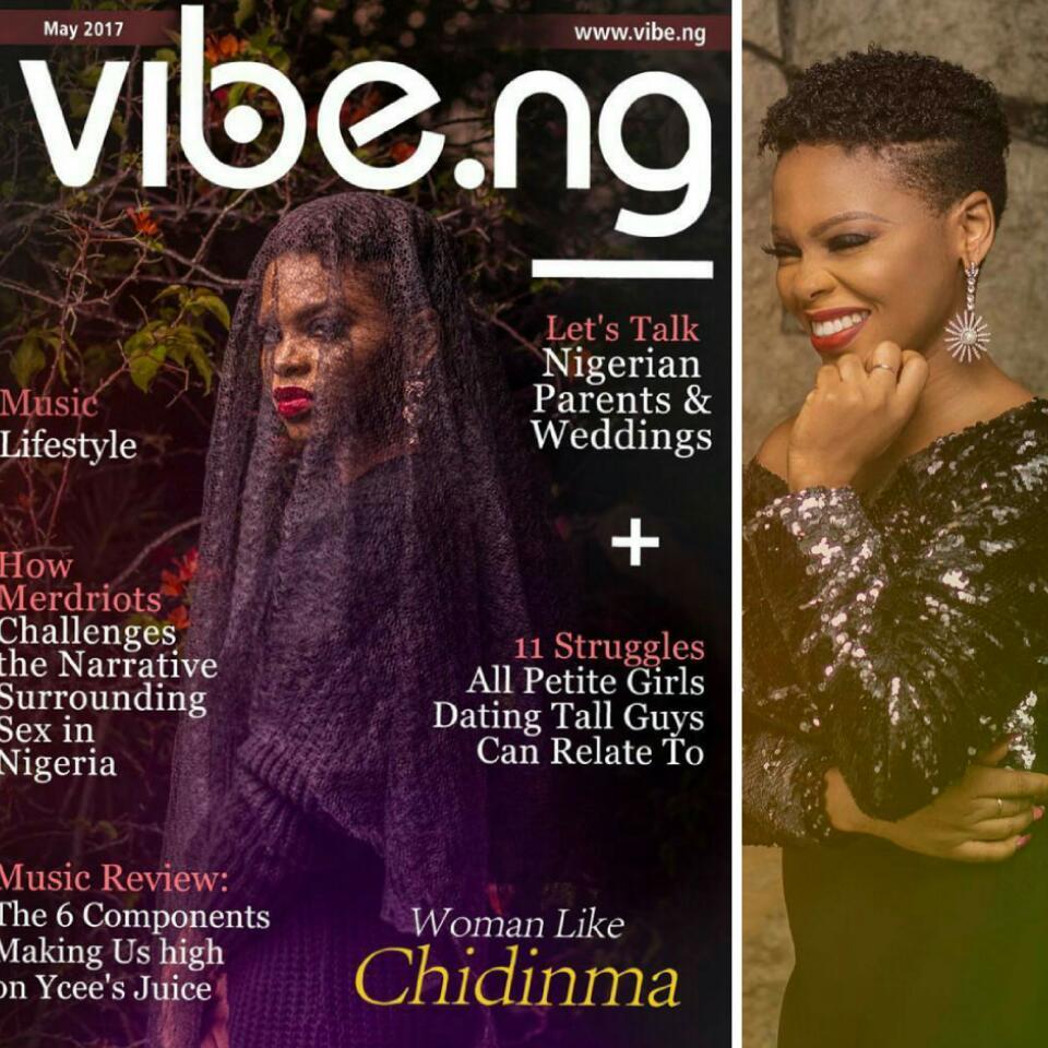 Chidinma Ekile Aka Ms Kedike Covers Vibe Magazine May Edition