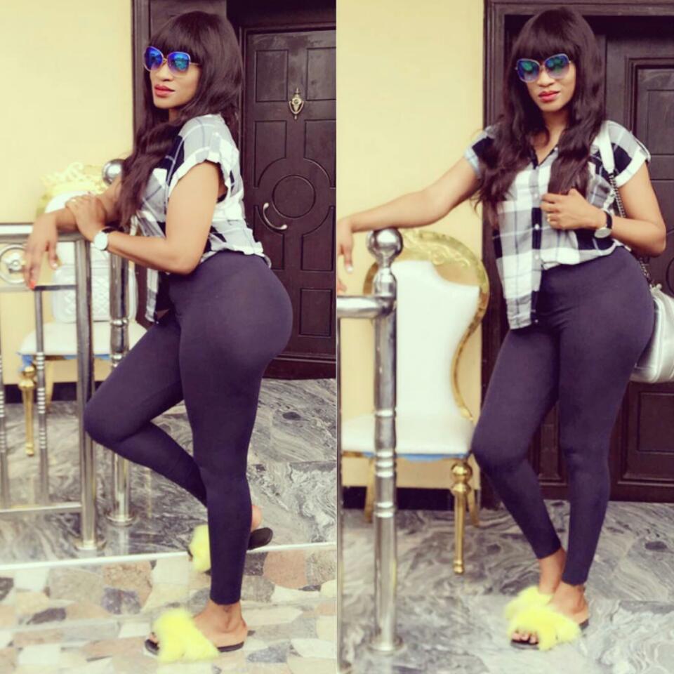 Oge Okoye Has Been Accused Of Wearing Butt Pad