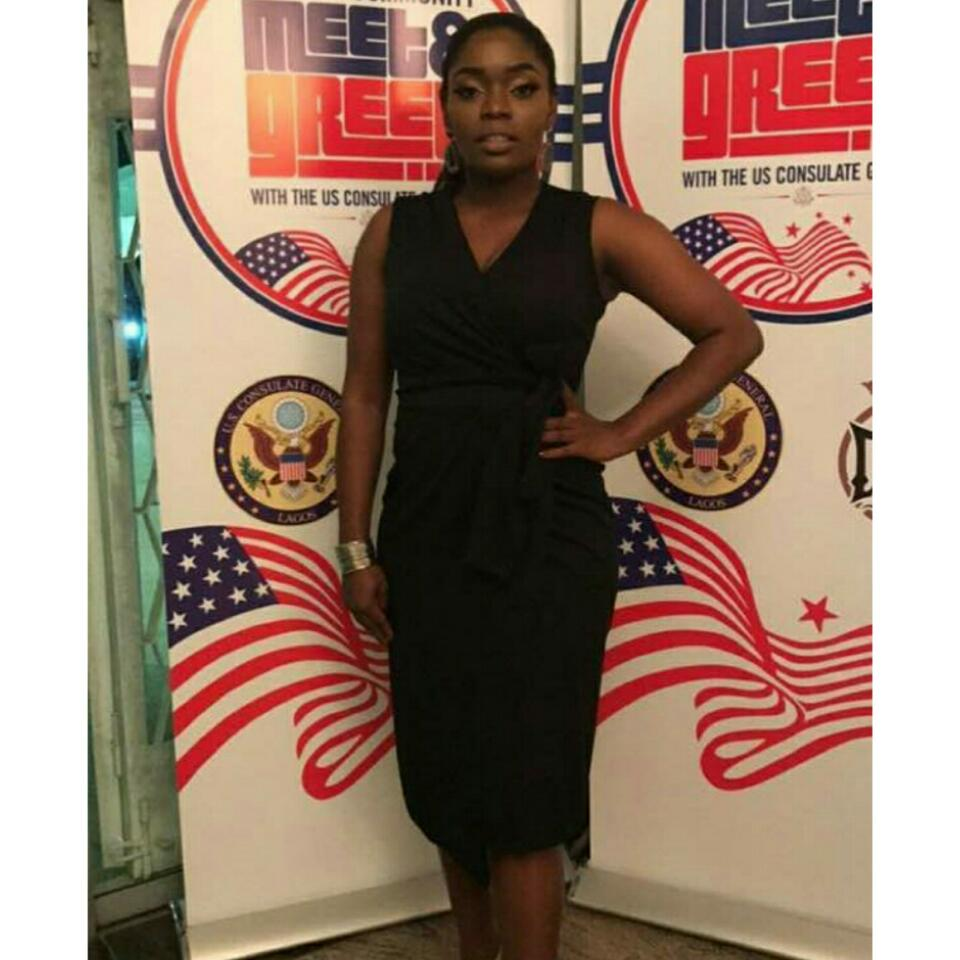 Bisola Aiyeola Shows Off Slimmer Figure In LBD