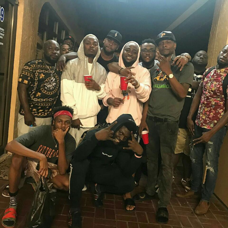 Davido And Olamide Pose Together In Miami