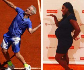 Serena Williams Clapped Back At John McEnroe