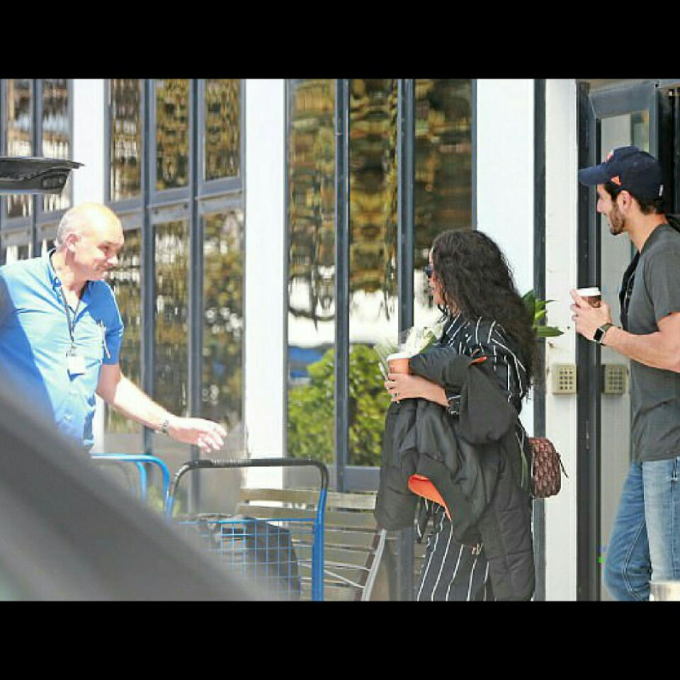 Rihanna And Billionaire Boyfriend Hassan Jameel Spotted Out And About
