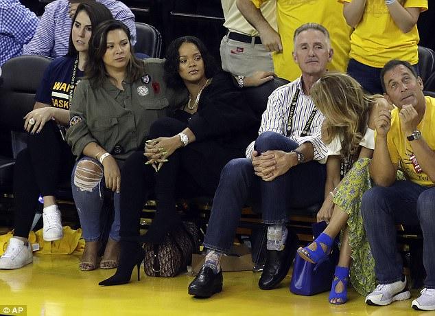 Rihanna At 2017 NBA Finals (5)