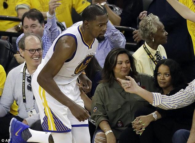 Rihanna At 2017 NBA Finals (3)