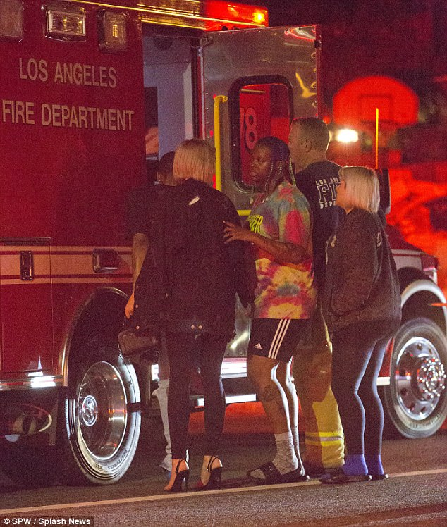 Blac Chyna Was Involved In A Car Accident In Los Angeles (2)