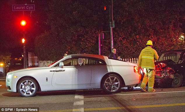 Blac Chyna Was Involved In A Car Accident In Los Angeles (1)