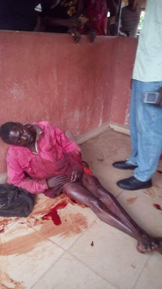 Ritualists Murder And Butcher Man At Igarra Market In Edo State (1)