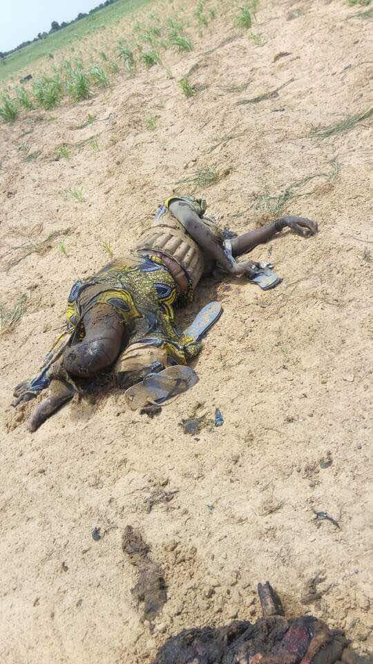 5 Suicide Bombers Who Died Along Mamanti Village In Borno (1)
