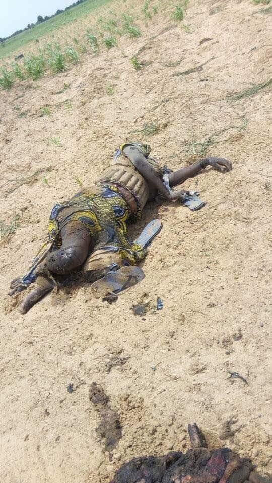 5 Suicide Bombers Who Died Along Mamanti Village In Borno (1)