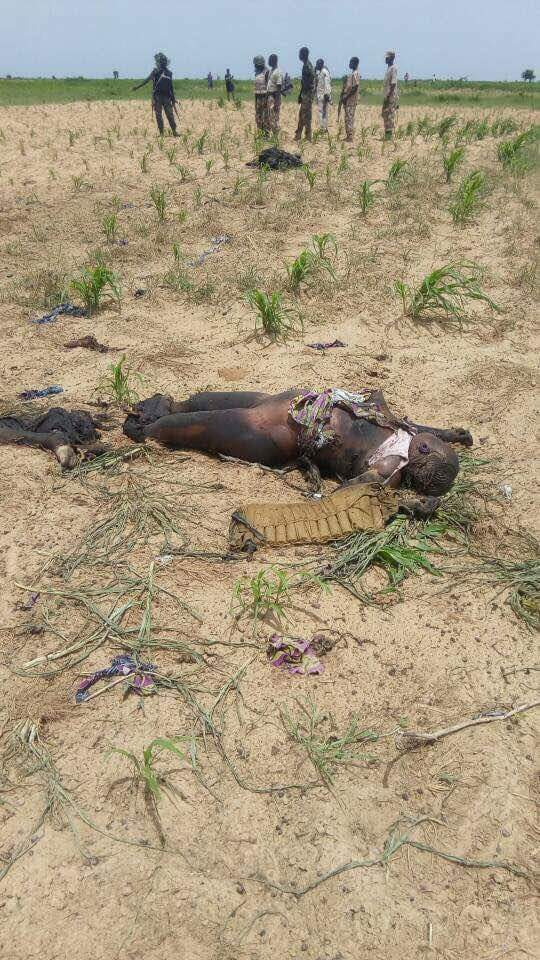 5 Suicide Bombers Who Died Along Mamanti Village In Borno (4)