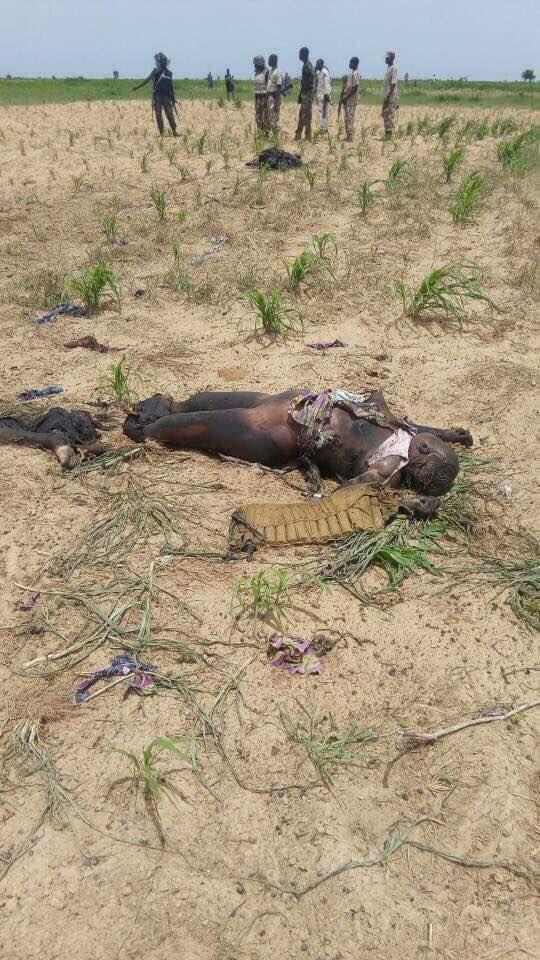 5 Suicide Bombers Who Died Along Mamanti Village In Borno (4)