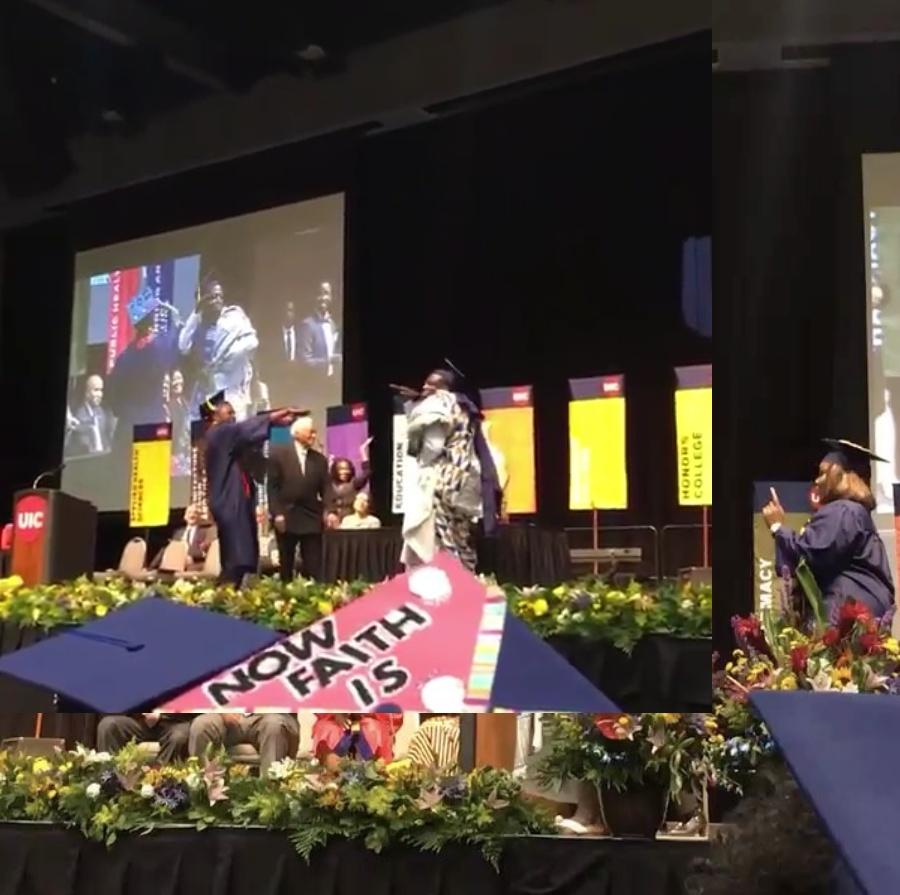 Isaac Adu-Gyamfi Shoki Dance Graduation