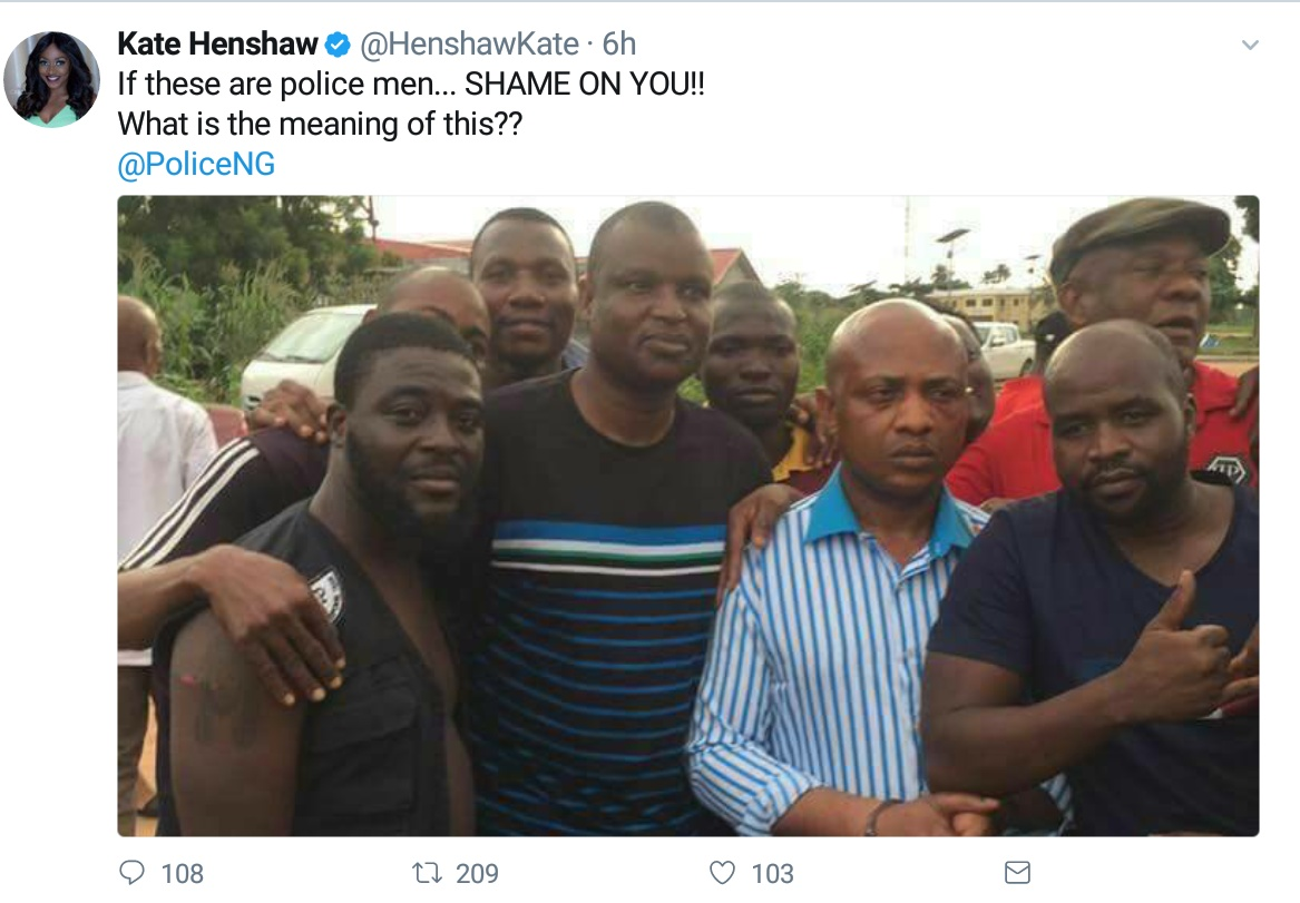 Nollywood Actress Kate Henshaw Has Reacted To Photo Of People Taking Selfie With Notorious Billionaire Kidnapper Evans