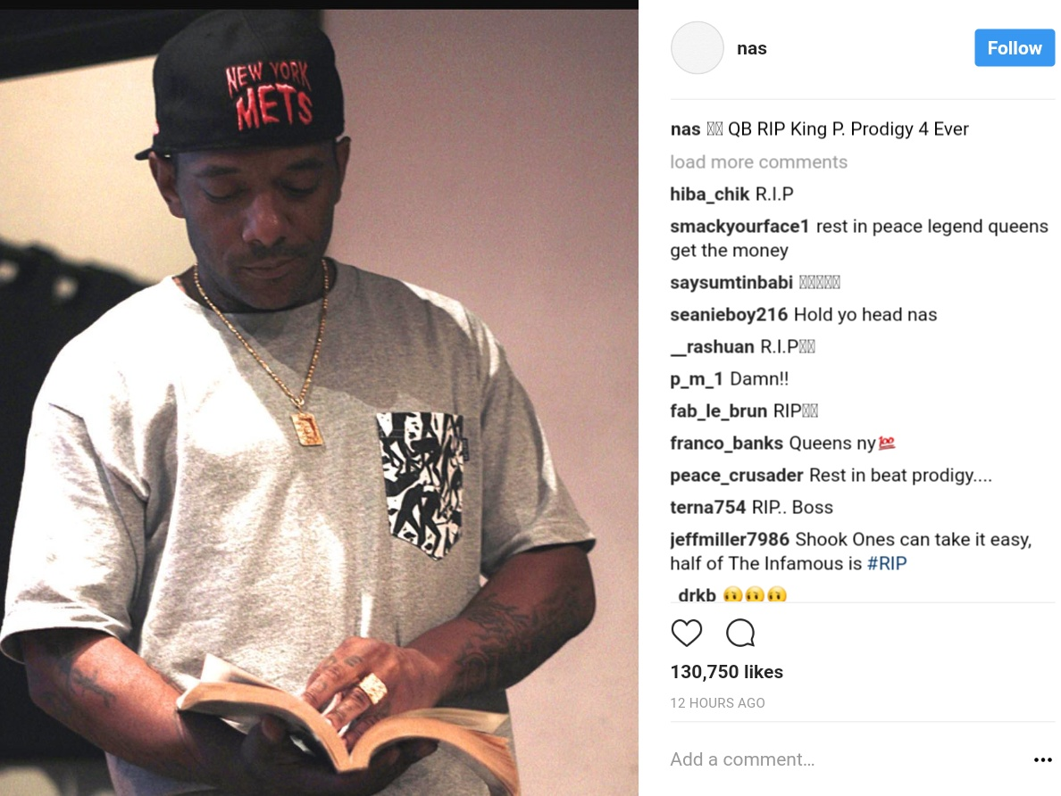 Prodigy Has Died Aged 42 (1)