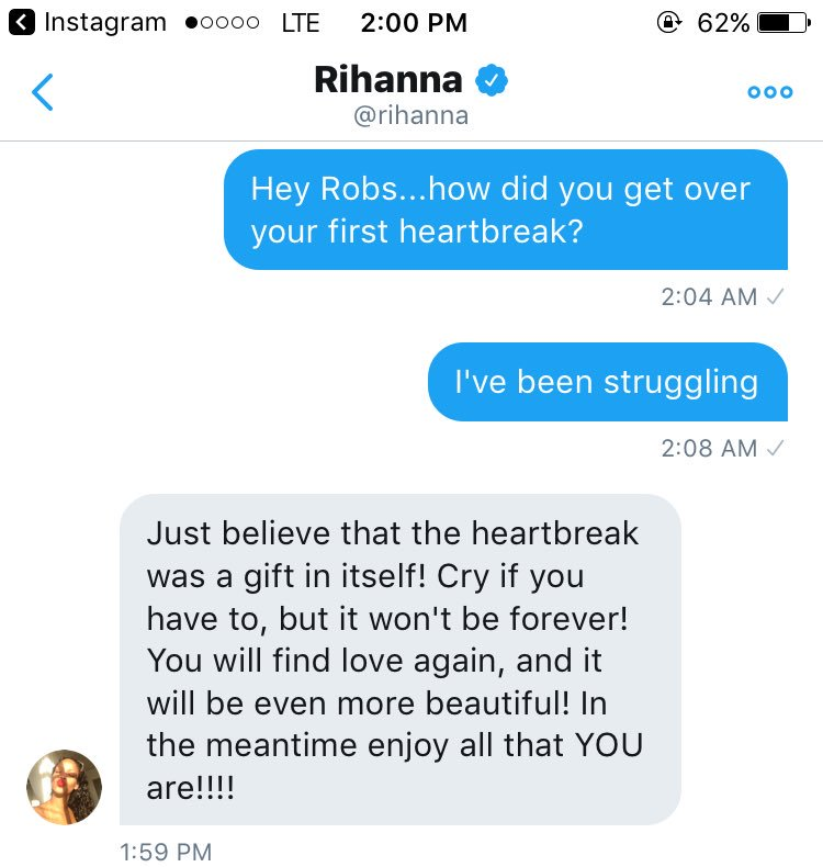 Love Advice Rihanna Gave To Heartbroken Fan (1)