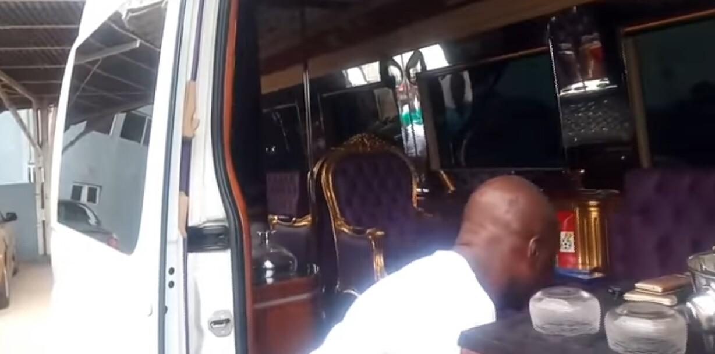 Asamoah Gyan's Luxury Mercedes-Benz Bus (2)