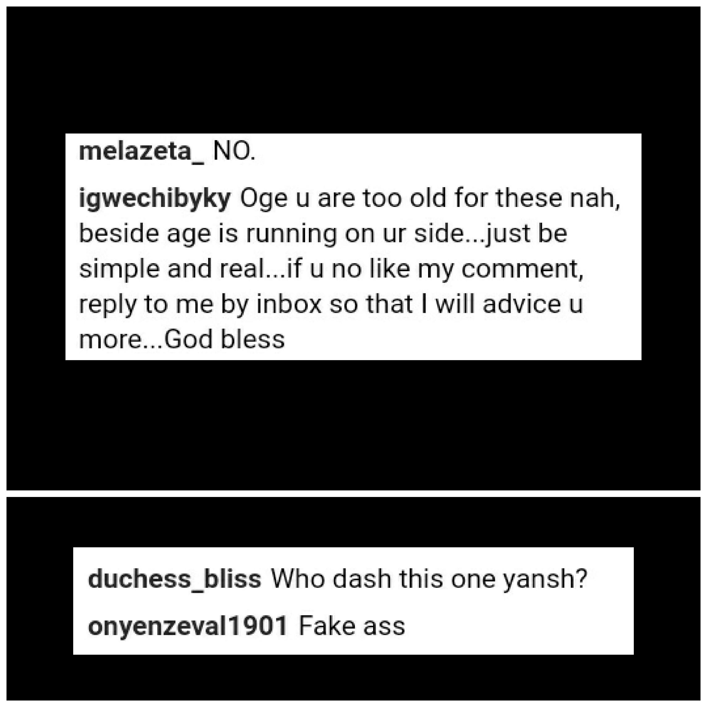 Oge Okoye Has Been Accused Of Wearing Butt Pad (2)