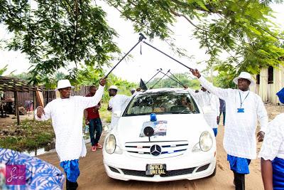 Omoni Oboli's Father's Burial