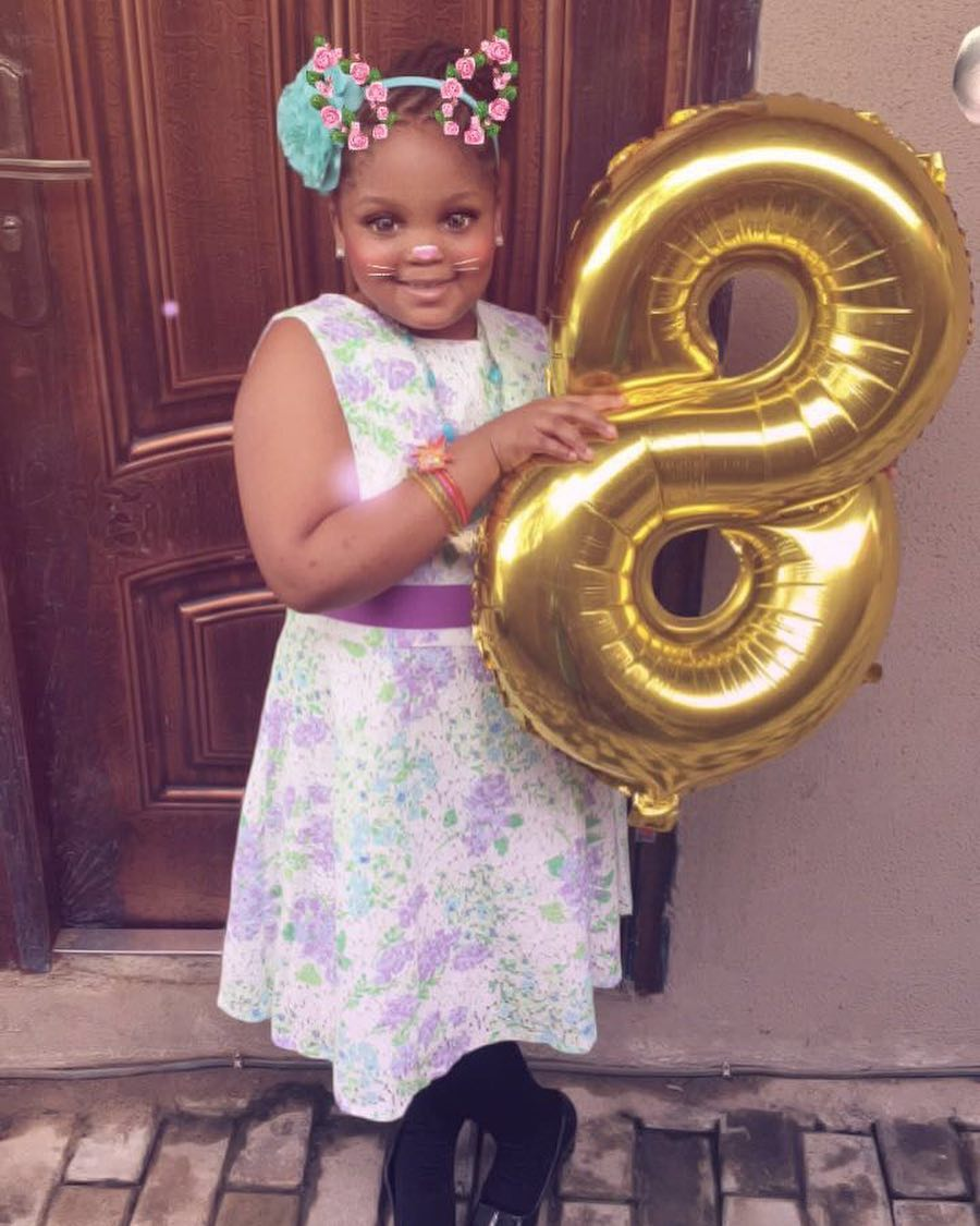 Bisola Aiyeola Celebrates Daughter Leyla's 8th Birthday