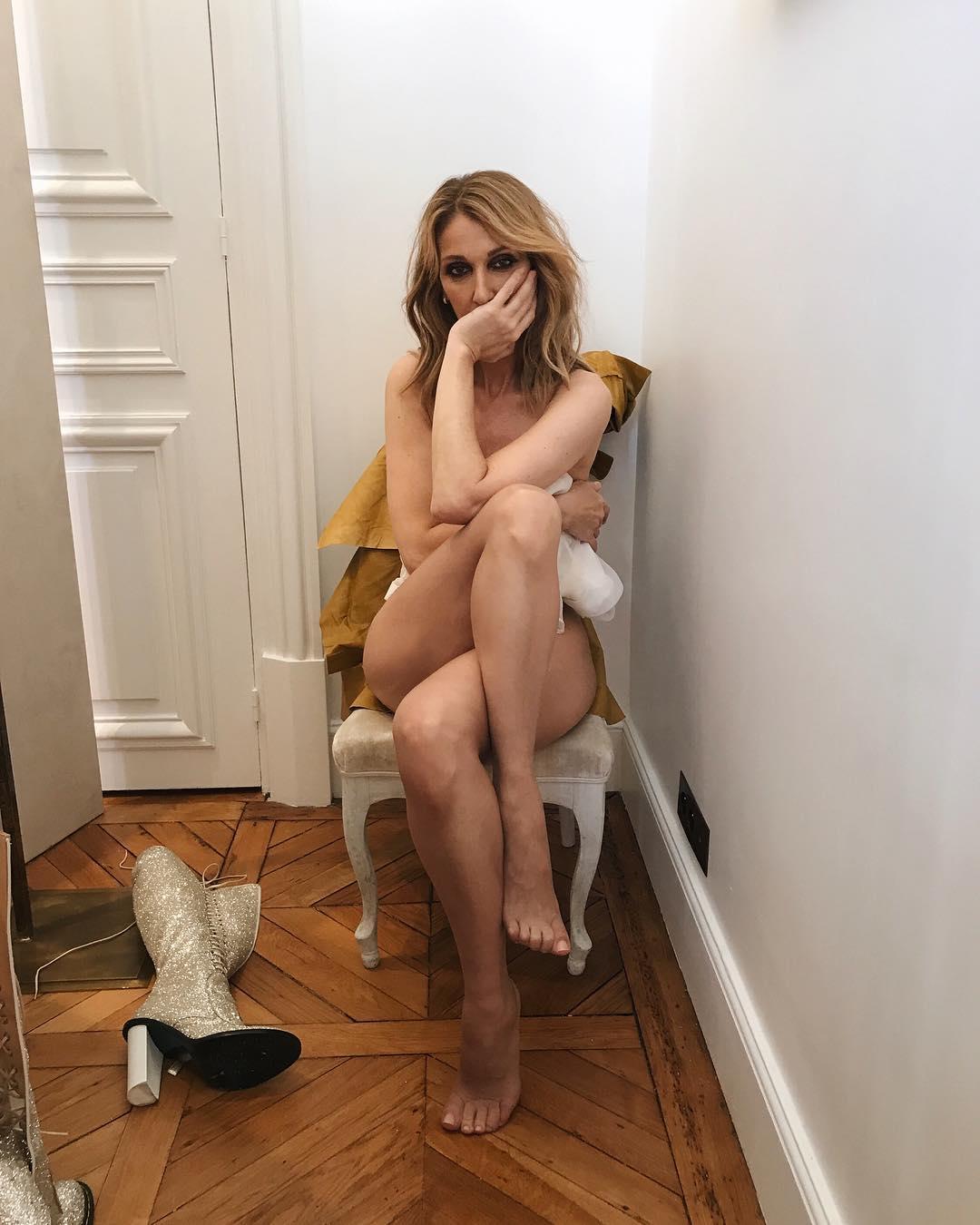 Celine Dion Poses Naked For Vogue Magazine (4)