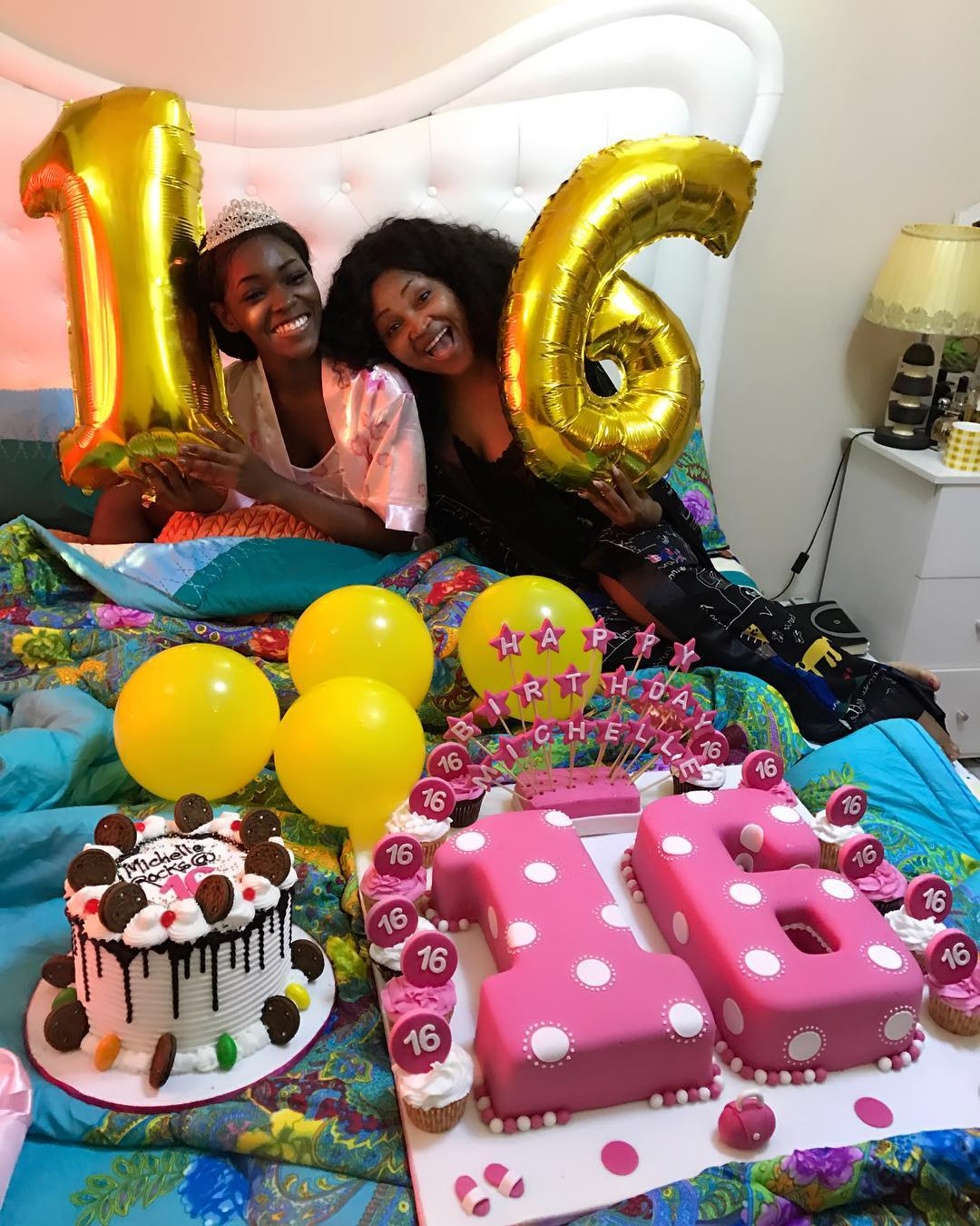 Mercy Aigbe Celebrates As Daughter Michelle Turns 16 (1)