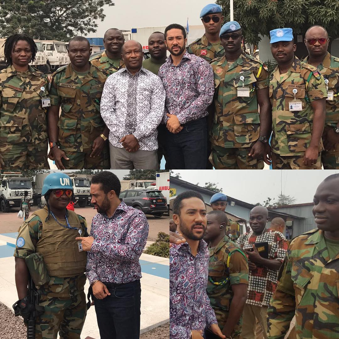 Majid Michel Was Invited To Share The Word of God At The United Nations Stabilization Mission In Congo (1)