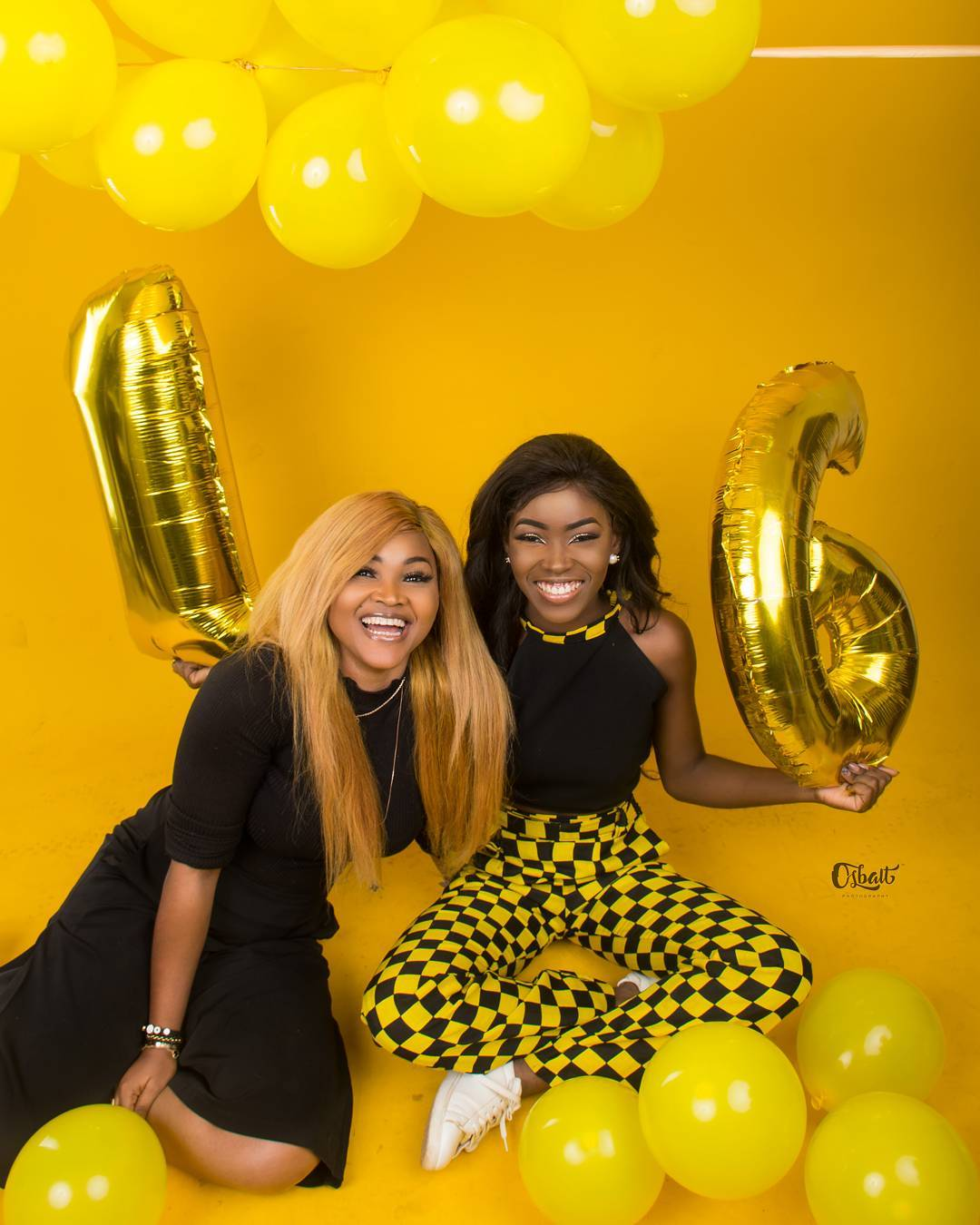 Mercy Aigbe Celebrates As Daughter Michelle Turns 16 (4)