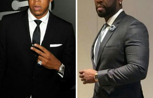 Rapper 50 Cent Hilariously Trolls 4:44 To Promote Power