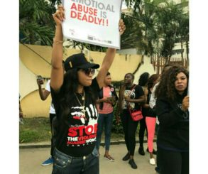 Tonto Dikeh Has Called On Women To Speak Out When In An Abusive Relationship