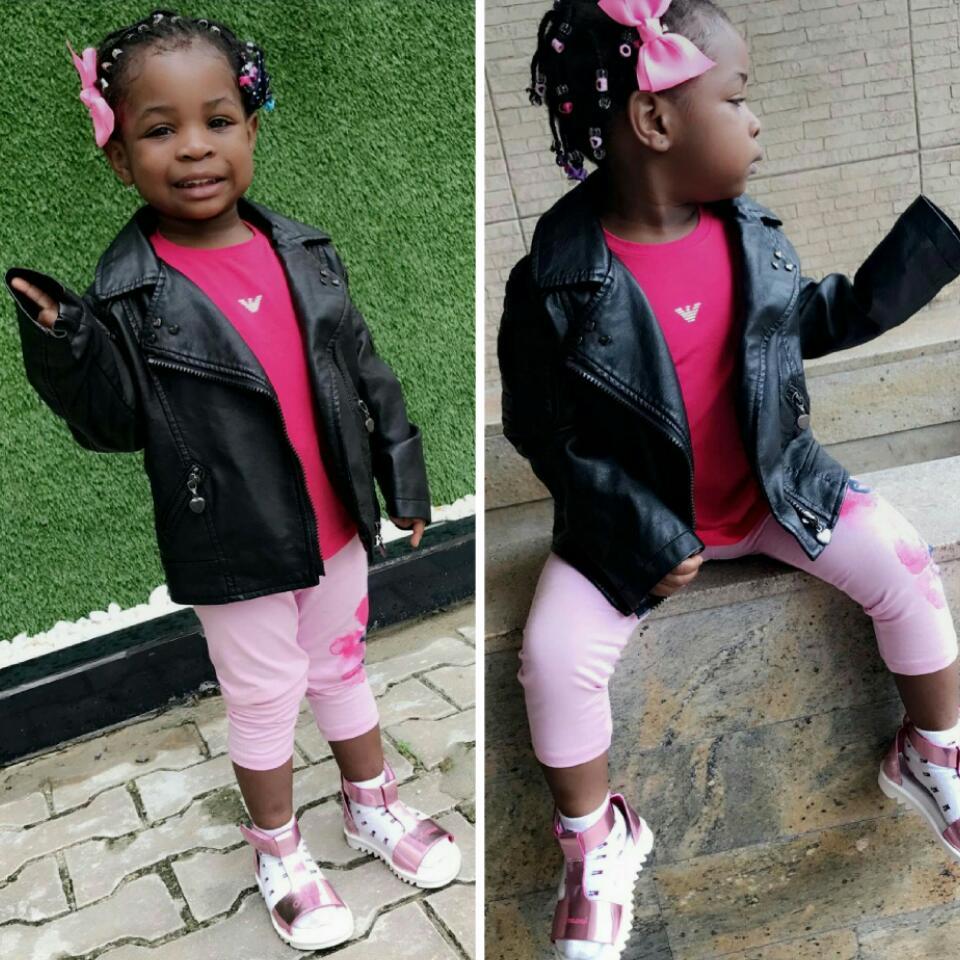Imade Adeleke Rocking Armani Outfit