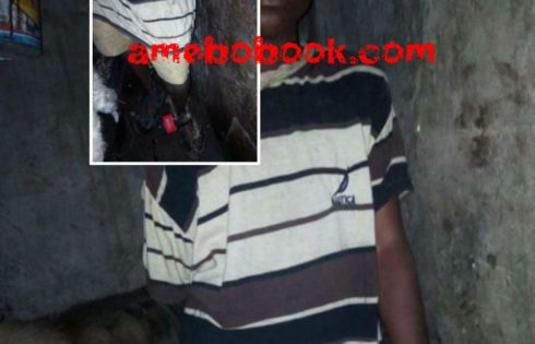 Houseboy Chained And Locked Up In Cage With Goats In Lagos
