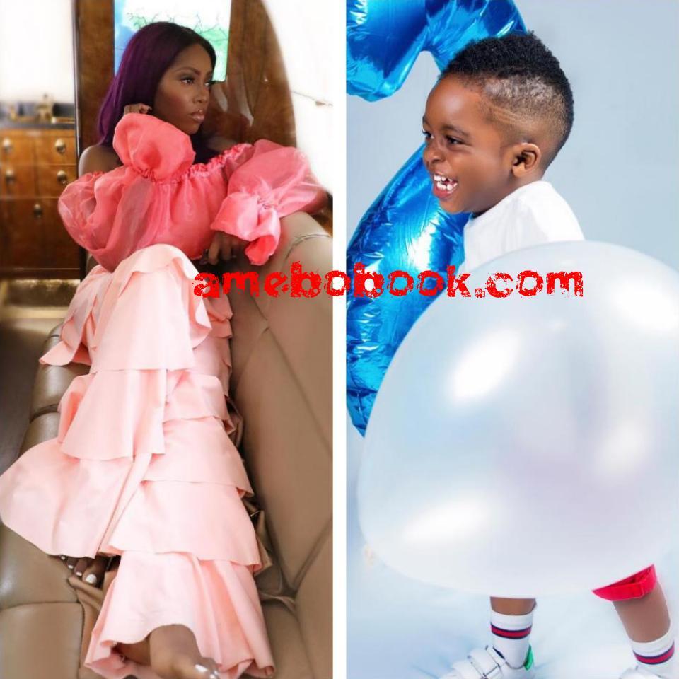 Tiwa Savage Celebrates Son Jamil 2nd Birthday