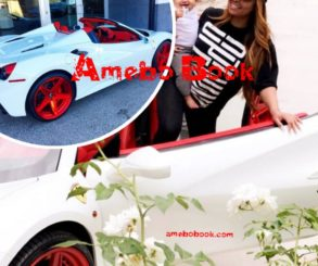 Blac Chyna Shows Off Her New 2017 Ferrari 488 Spider With Forgiato Wheels