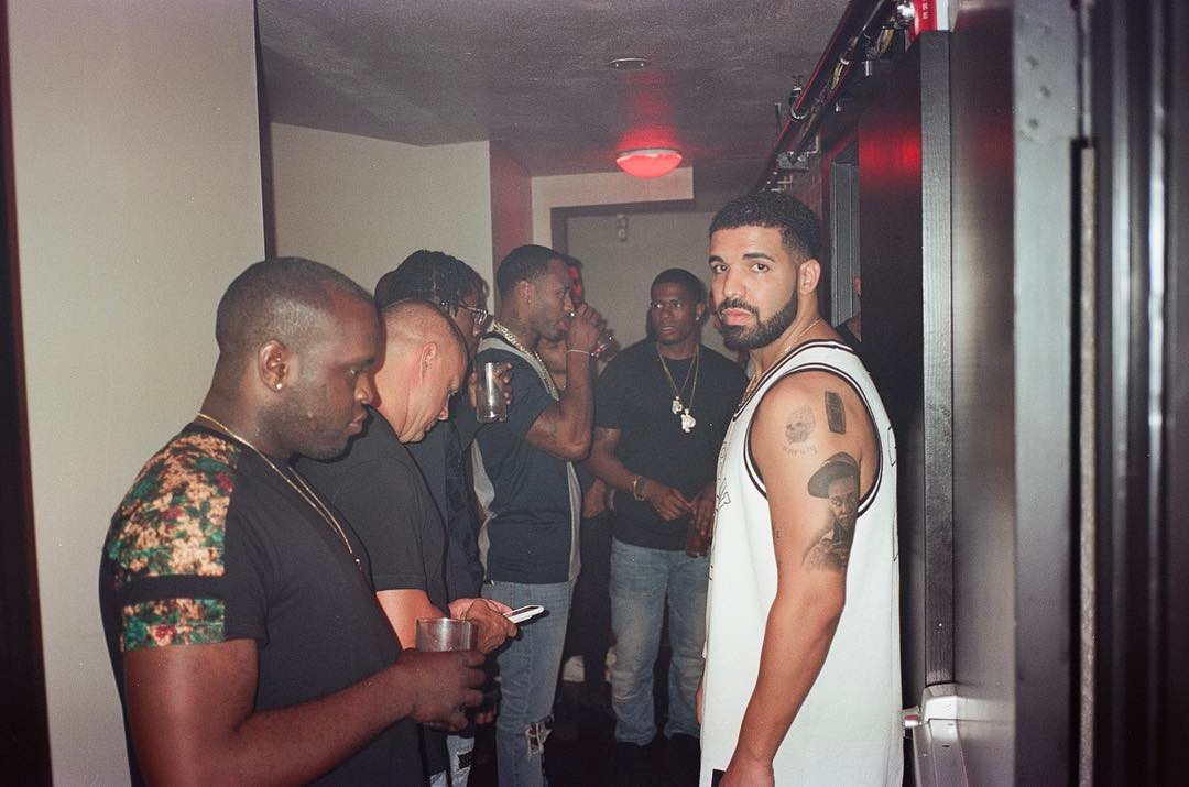 Drake Got Lil Wayne Tattoo On His Arm (1)