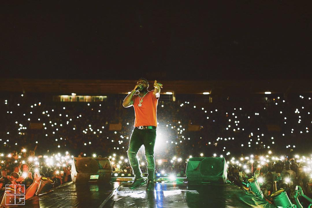 Davido I Got The Stadium Looking Like Champions League Final (2)