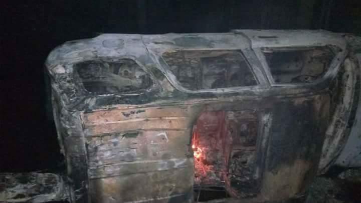 Vigilante Members Killed And Burnt Three Badoo Suspects At Odogunyan Area (3)