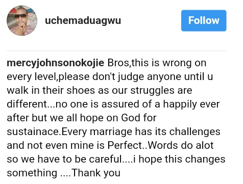 Mercy Johnson Cautions Actor Uche Maduagwu After He Used Her Marriage To Mock Colleagues Whose Marriage Crashed (2)