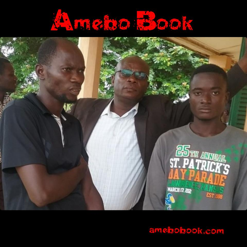 Two Friends Connived To Steal Gold From A Shrine At Wiamoase In The Ashanti Region But Are Exposed By The gods