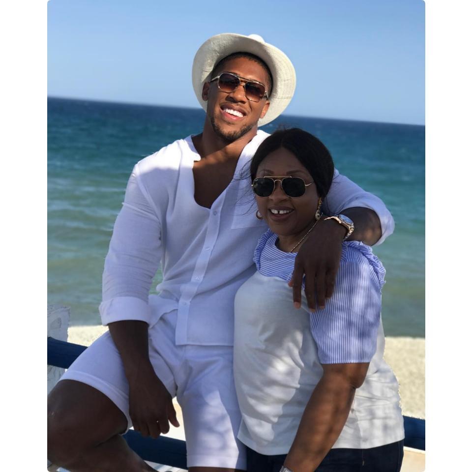 Boxing Champ Anthony Joshua Pays Tribute To Mum