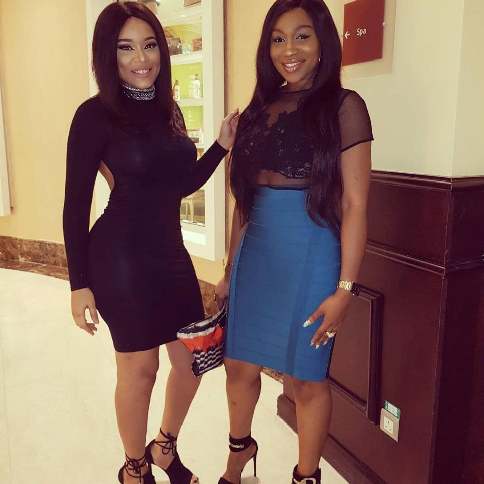 Ebube Nwagbo And Onyii Alex Pictured Together
