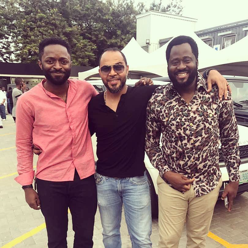Desmond Elliot, Ramsey Nouah Shares New Photos