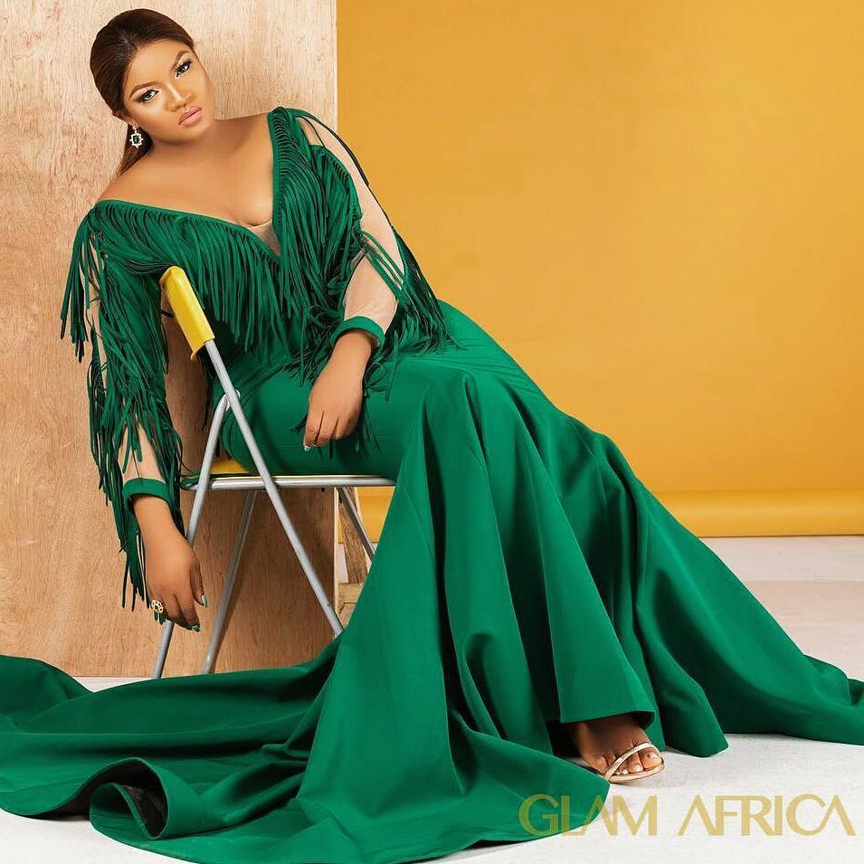 Omotola Jalade Ekeinde Glam Africa Magazine Photoshoot (4)
