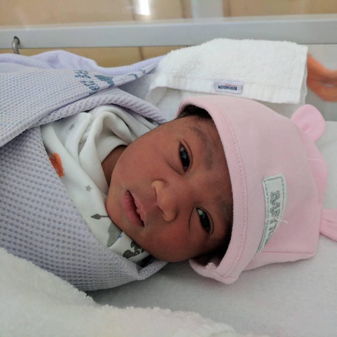 MaryRemmyNjoku Newborn Daughter Nnenna Amber Njoku (1)