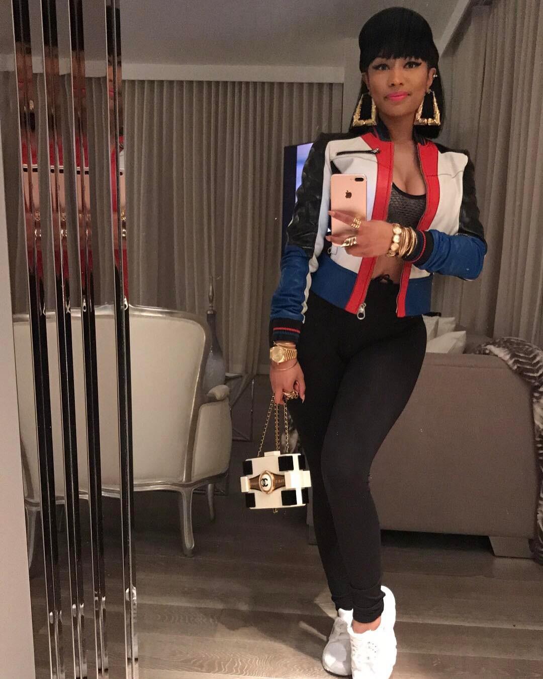 Nicki Minaj Channels Salt-N-Pepa In Epic Throwback (1)